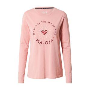Maloja Funkční tričko 'Semtokha'  růžová / mix barev