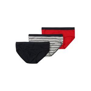 SCHIESSER Spodní prádlo  modrá / šedý melír / červená