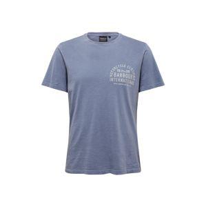 Barbour International Tričko 'Visor'  bílá / chladná modrá