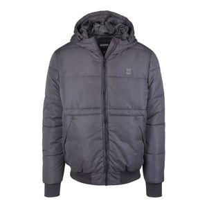 Urban Classics Zimní bunda  čedičová šedá