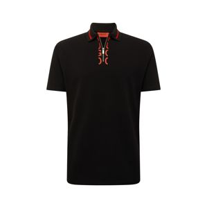 HUGO Tričko  černá
