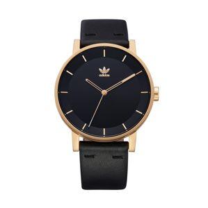 ADIDAS ORIGINALS Analogové hodinky 'District_L1'  zlatá / černá