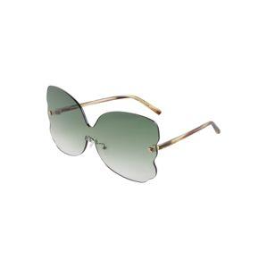 Matthew Williamson Sluneční brýle 'WILLOW LIGHT'  zlatá / světle zelená