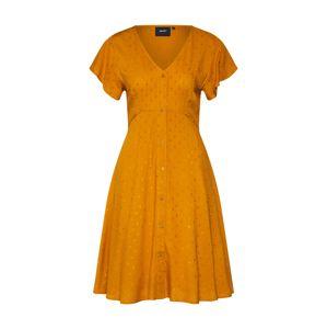 OBJECT Košilové šaty 'AYA'  oranžová