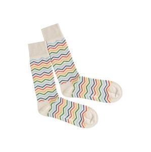 DillySocks Ponožky 'Square Rainbow'  mix barev