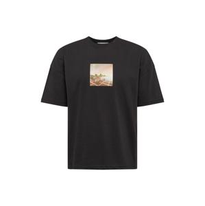NU-IN Tričko  černá / mix barev