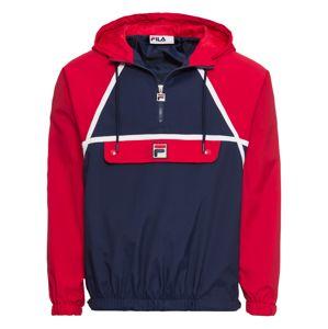 FILA Přechodná bunda 'ASTOR BATWING'  modrá / červená / bílá