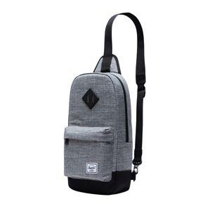 Herschel Taška přes rameno 'Heritage Shoulder Bag'  černá / šedá