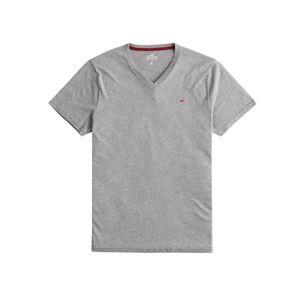 HOLLISTER Tričko  světle šedá