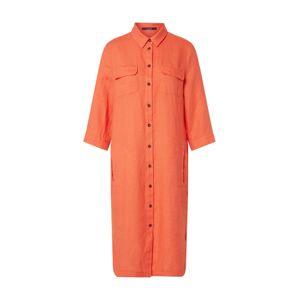 LAUREL Košilové šaty  oranžová