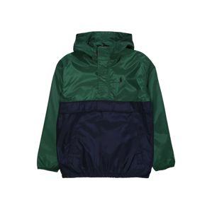 POLO RALPH LAUREN Přechodná bunda  tmavě zelená