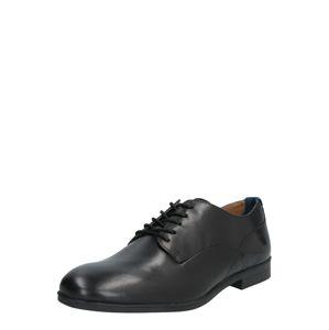 Hudson London Šněrovací boty 'AXMINSTER'  černá