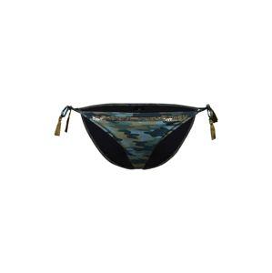 Watercult Spodní díl plavek  modrá / zelená / černá