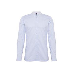 OLYMP Košile 'No. 6 Travers Streifen'  světlemodrá / bílá