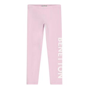 UNITED COLORS OF BENETTON Legíny  růžová / bílá