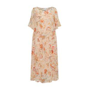 VILA Letní šaty  oranžová / broskvová