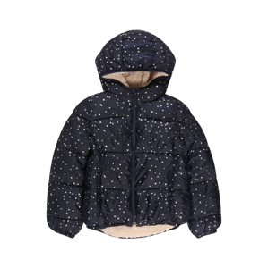 GAP Zimní bunda  námořnická modř / bílá
