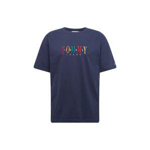 Tommy Jeans Tričko 'TJM TOMMY 85 SHORTSLEEVE TEE'  tmavě modrá / mix barev