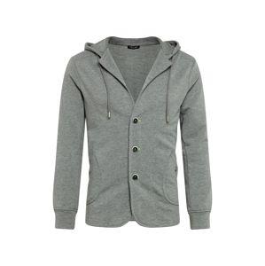 Key Largo Mikina s kapucí 'MSW FINSBURY jacket'  šedá