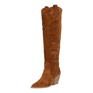 BRONX Kovbojské boty  koňaková