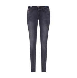 Tommy Jeans Džíny 'SOPHIE'  šedá džínová / černá