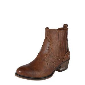 MUSTANG Kovbojské boty  hnědá