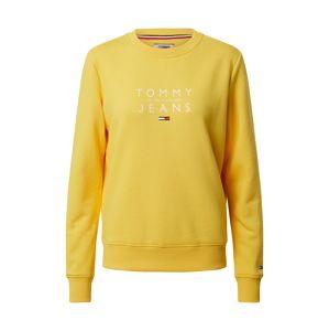 Tommy Jeans Mikina  žlutá