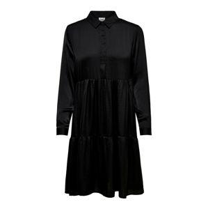 JACQUELINE De YONG Košilové šaty  černá