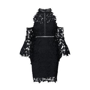 Bardot Koktejlové šaty 'ISABELLA'  černá