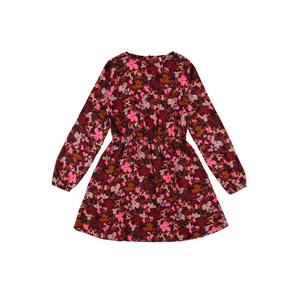 KIDS ONLY Šaty 'MAGGIE'  černá / světle červená / pink