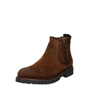 Pepe Jeans Chelsea boty  karamelová / tmavě hnědá / černá