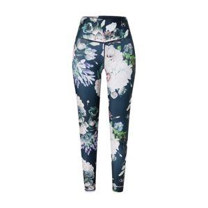 ENDURANCE Sportovní kalhoty 'Summer'  bílá / zelená / petrolejová
