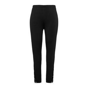 Ulla Popken Pyžamové kalhoty  černá