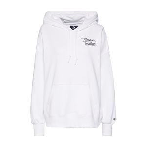 CONVERSE Mikina 'CONVERSE WOMENS STRONGER TOGETHER OS HOODIE'  bílá