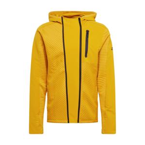 ADIDAS PERFORMANCE Sportovní bunda  žlutá / černá
