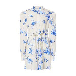 Custommade Košilové šaty 'Haniel'  modrá / bílá