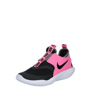 NIKE Sportovní boty  pink / černá