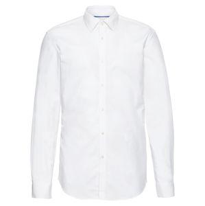 Esprit Collection Společenská košile 'N soliST Po lsl'  bílá