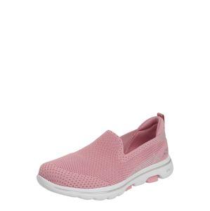 Skechers Performance Slip on boty 'Go Walk 5 Prized'  růžová