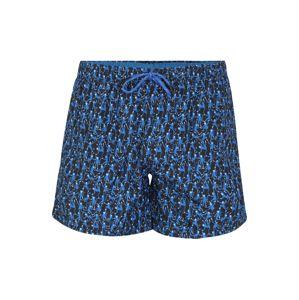 BOSS Plavecké šortky 'Rockfish'  modrá