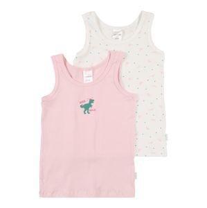 SCHIESSER Tílko  zelená / růžová / bílá
