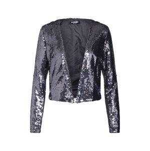 Fashion Union Přechodná bunda 'LUDMILLA'  stříbrná