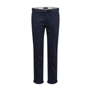 SCOTCH & SODA Chino kalhoty 'Stuart'  noční modrá
