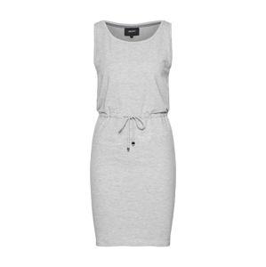 OBJECT Šaty  šedý melír
