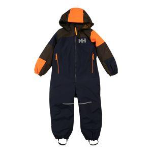 HELLY HANSEN Sportovní oblečení 'Rider 2'  námořnická modř / hnědá / svítivě oranžová