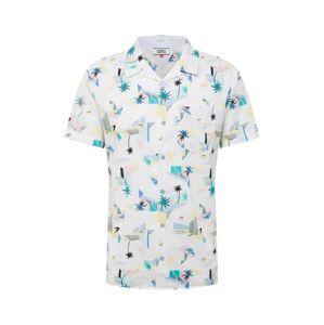 Tommy Jeans Košile 'TJM PRINTED SHIRT'  mix barev / bílá