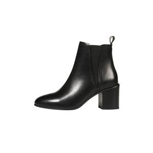 Marc O'Polo Chelsea boty  režná / černá