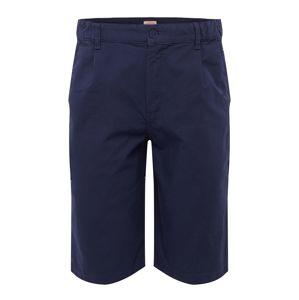 Armor Lux Kalhoty se sklady v pase 'Bermuda'  námořnická modř
