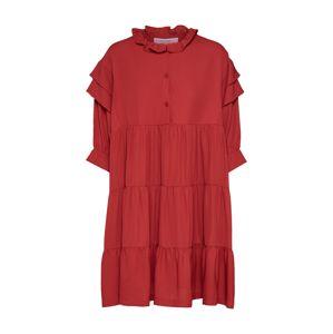Designers Remix Šaty 'Byron Layered Dress'  červená