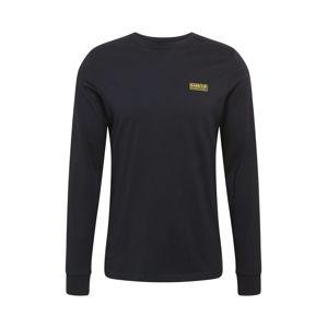 Barbour International Tričko  černá / žlutá